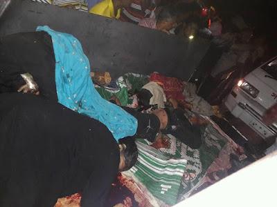 ভৈরব নগর বয়ারখোলা ব্রিজের ট্রাক-পিকআপ সংঘর্ষে ৬ জন নিহত ও 10 জন আহত