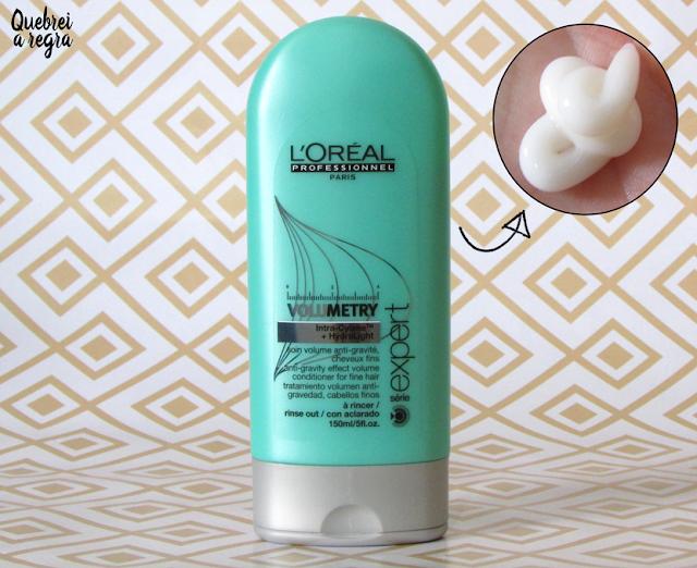 Linha Volumetry da L'Oréal Professionnel, dê volume ao seu cabelo fino e ralo