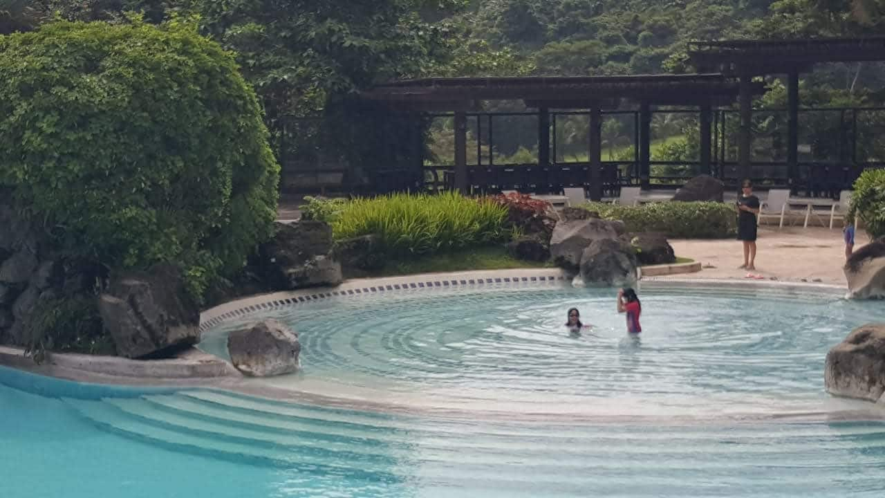 Swimming pool at Tagaytay Highlands