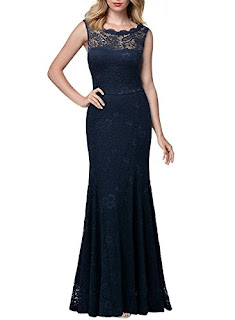 Retro Floral Lace Sleeveless Halter Bridesmaid Long Dress