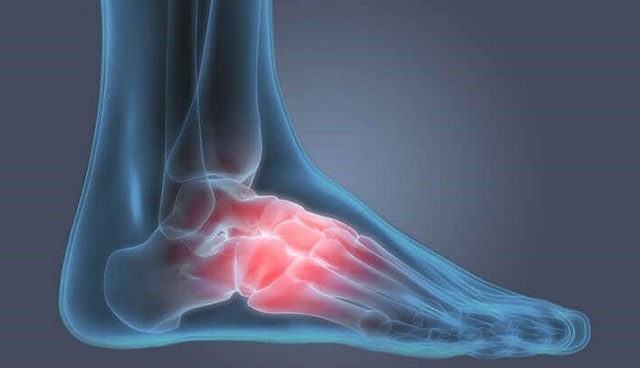 how to relieve foot pain at home
