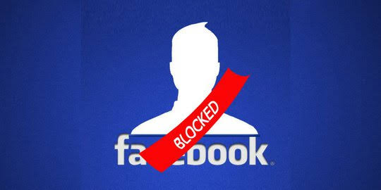 cara memblokir akun facebook