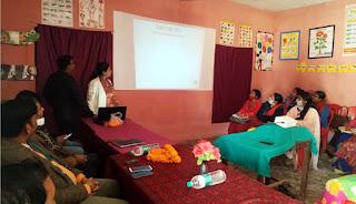 खण्ड शिक्षाधिकारी ने प्रधानाध्यापकों के साथ की बैठक  | #NayaSaberaNetwork