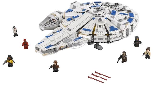 Lego Star Wars Han Solo - Kessel Run Millennium Falcon (75212)