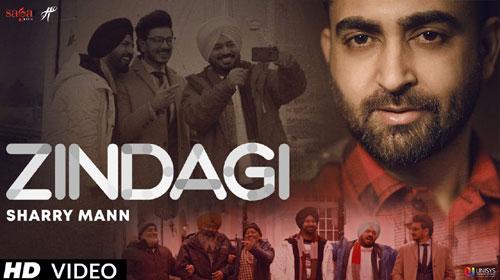 Zindagi Lyrics    Sharry Maan   Latest Punjabi Movie Song 2019