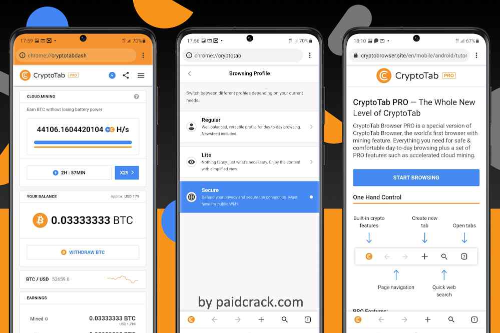 CryptoTab Browser Mod Apk