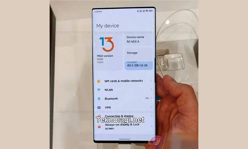 Xiaomi Mi Mix 4 (gizchina.com)