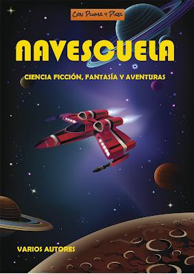 Portada de la antología Navescuela