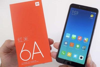 Spesifikasi, harga dan review Xiaomi redmi 6A