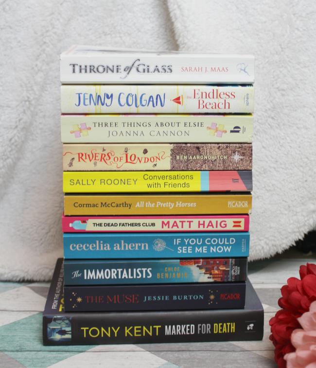2019 Spring book haul! - www.nourishmeblog.co.uk