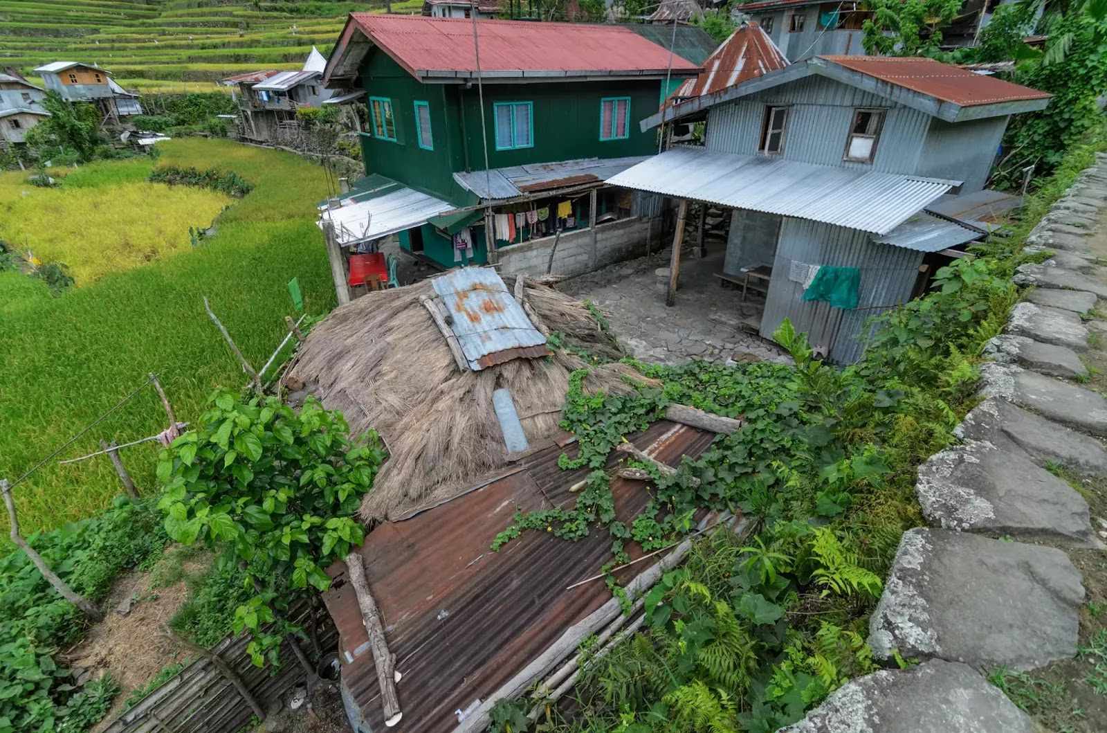 Batad Community Cluster Ifugao Cordillera Administrative Region Philippines