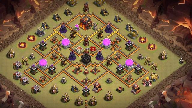 Th10 Anti Hogs War Base Links