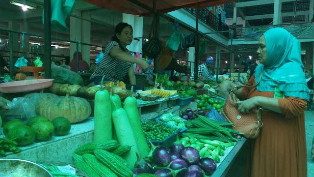 Stok Sayuran di Pasaran Minim