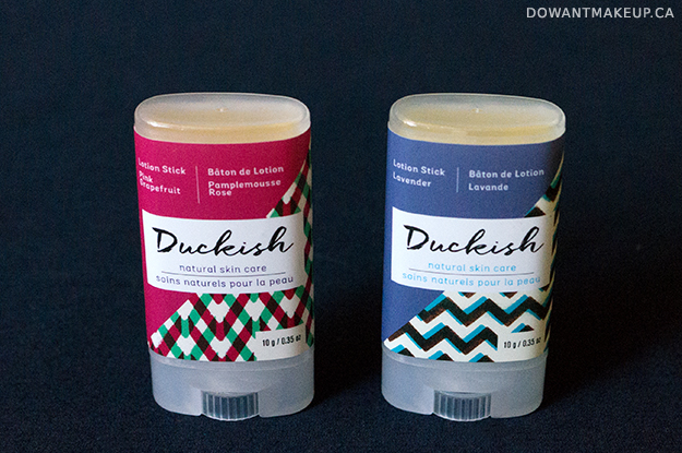 Duckish skin care lotion stick review