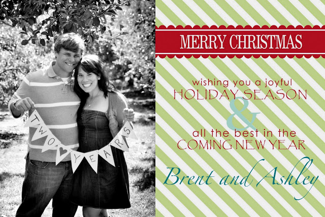 Free printable Christmas card download
