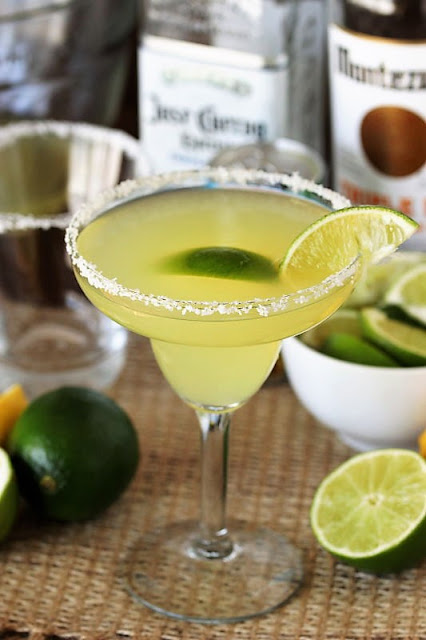Fresh Margarita Made from Scratch Image