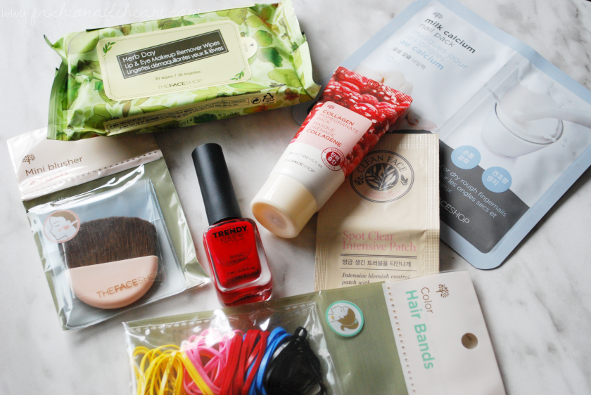bbloggers, bbloggersca, beauty blogger, thefaceshop, canada, advent calendar, christmas, skincare