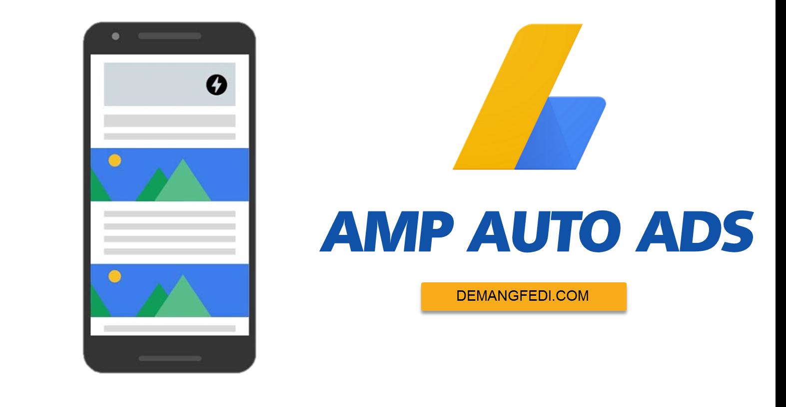 Cara Memasang Iklan Auto Ads Adsense Untuk Blog AMP