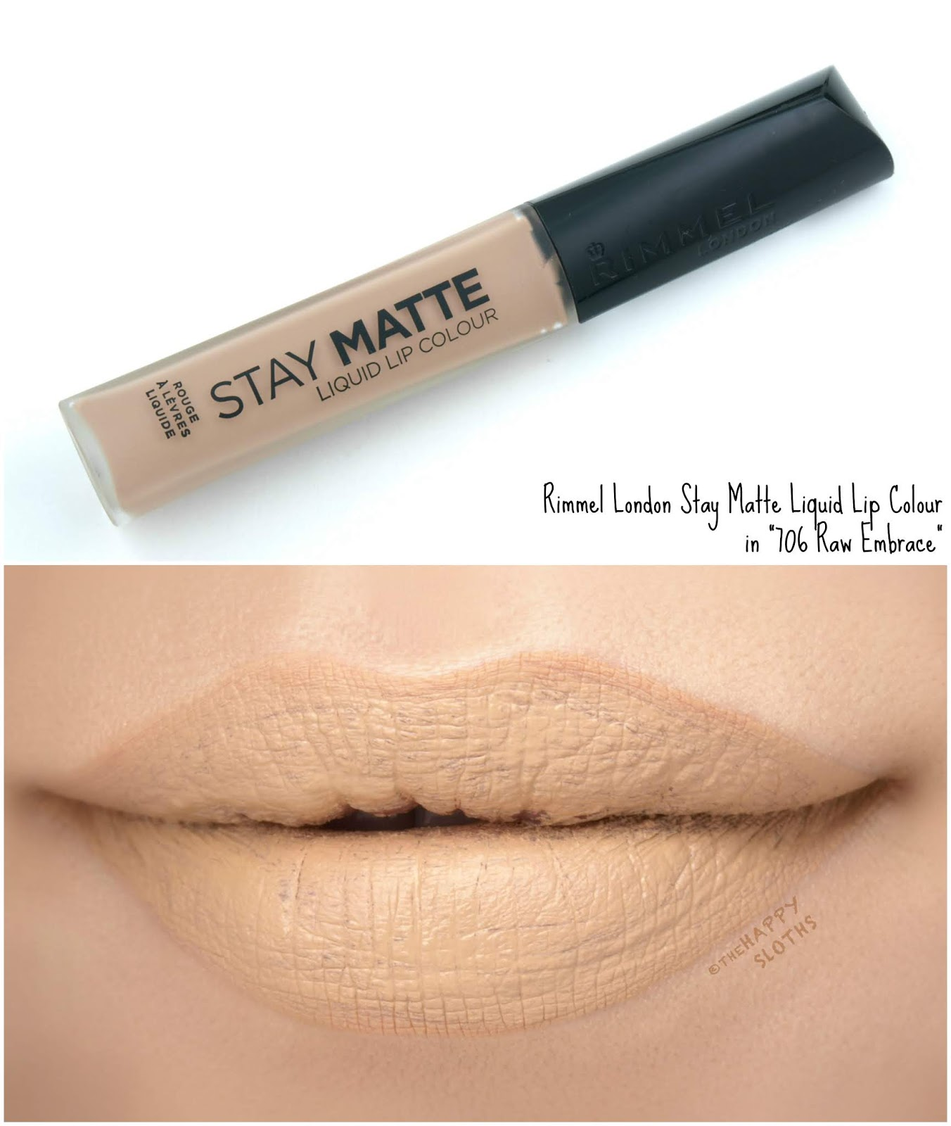 "Rimmel London | Stay Matte Liquid Lip Colour in ""706 Raw Embrace"": Review and Swatches"