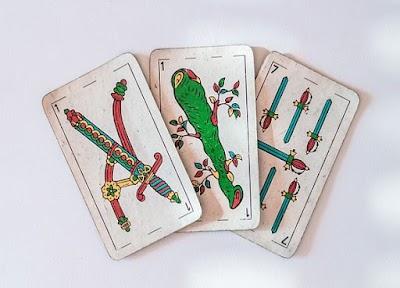 Juegos con baraja de cartas españolas en solitario o acompañado