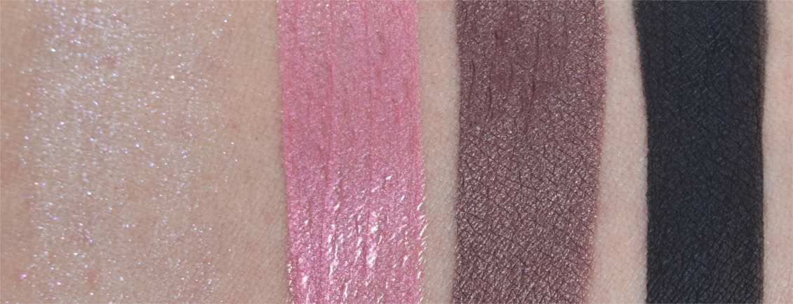 p2 cosmetics - 'UP ALL Night' Limited Edition - Swatches