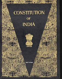 What is constitution of India in simple words?