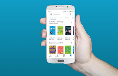 Cara Membeli Buku di Google Play dengan Gopay