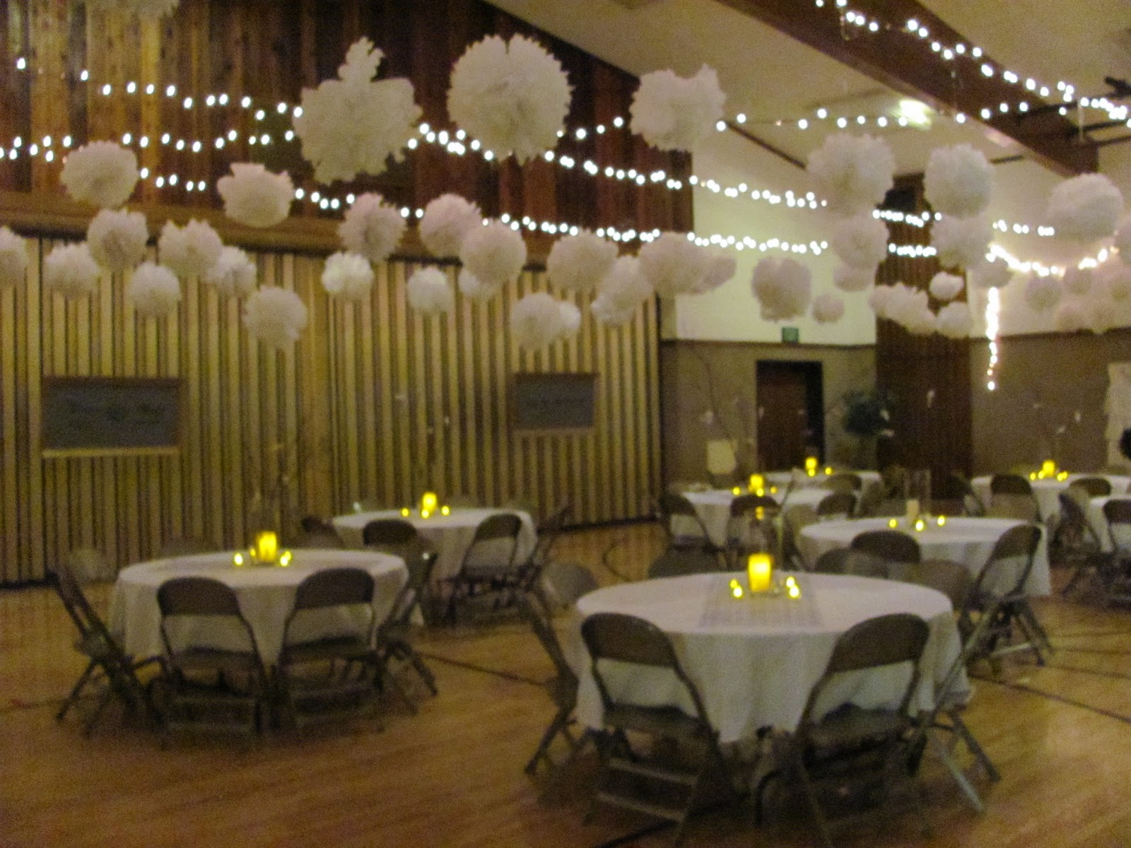 Header: Wedding Open House Decorating