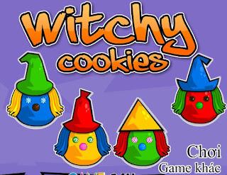 Game bánh quy halloween thú vị