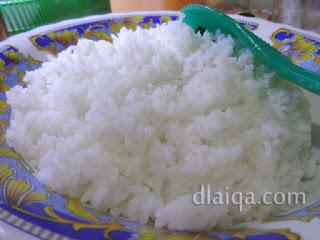 nasi siap disajikan