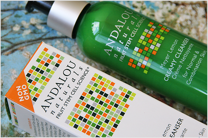 Andalou Naturals Creamy Cleanser Meyer Lemon Brightening