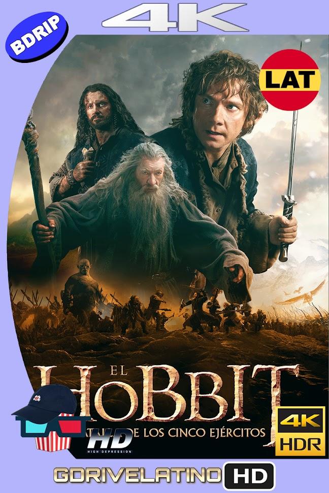 El Hobbit : La Batalla de los 5 Ejercitos (2014) EXTENDED EDITION BDRip 4K HDR Latino-Ingles MKV