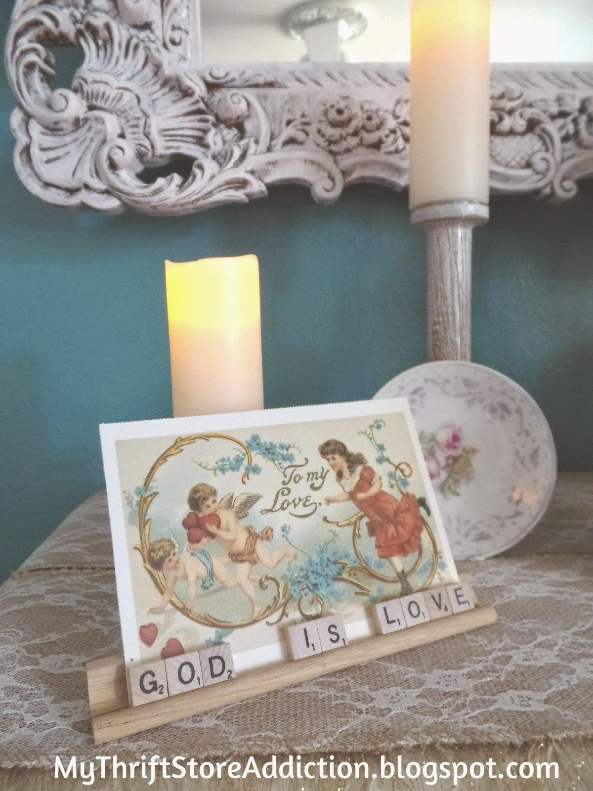 Romantic Candlelight Mantel