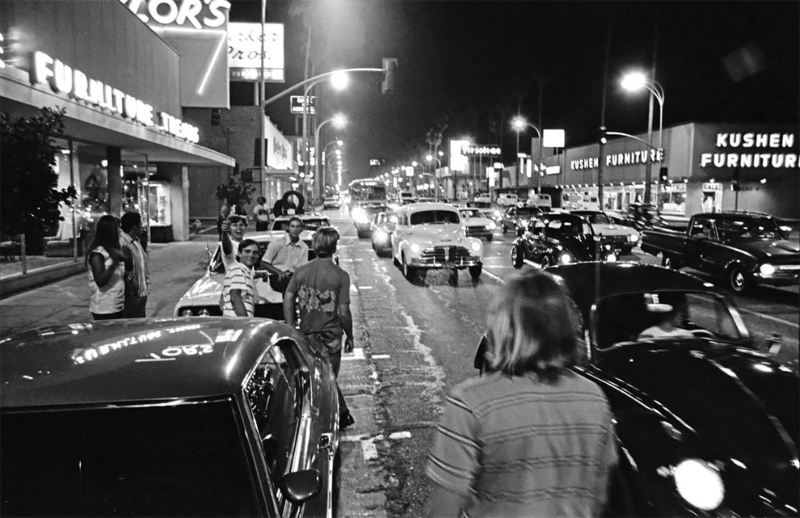 Vtg 1964 Pickwick Bookshop Hollywood CA Sidewalk Of Stars Photo #2076