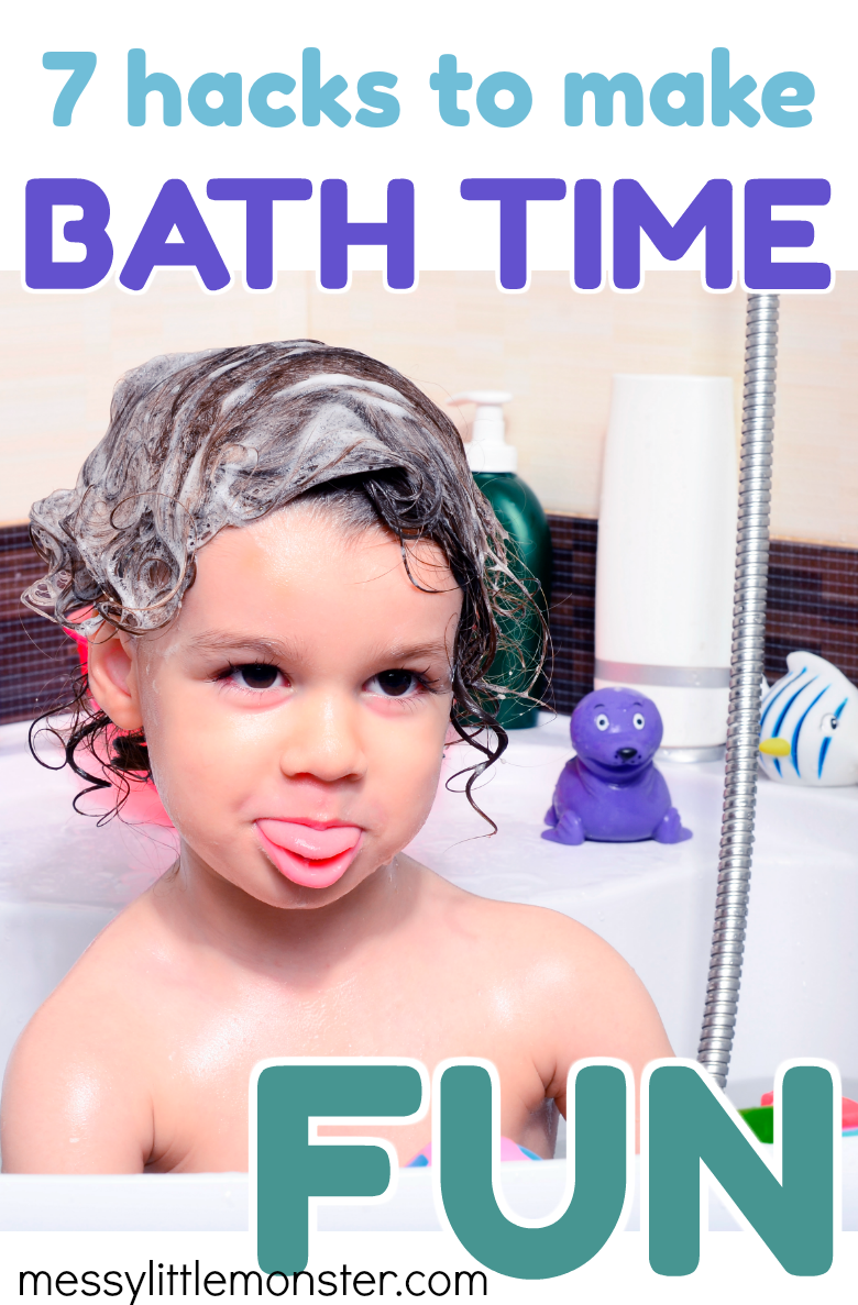 Bathtime fun for toddlers and preschoolers