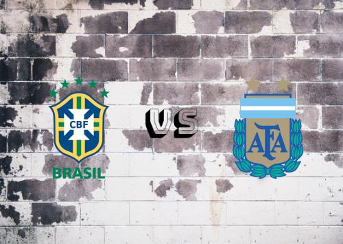 Brasil vs Argentina  Resumen y Partido Completo