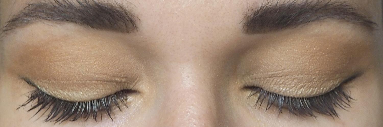Minimalistisches Augen-Make-Up