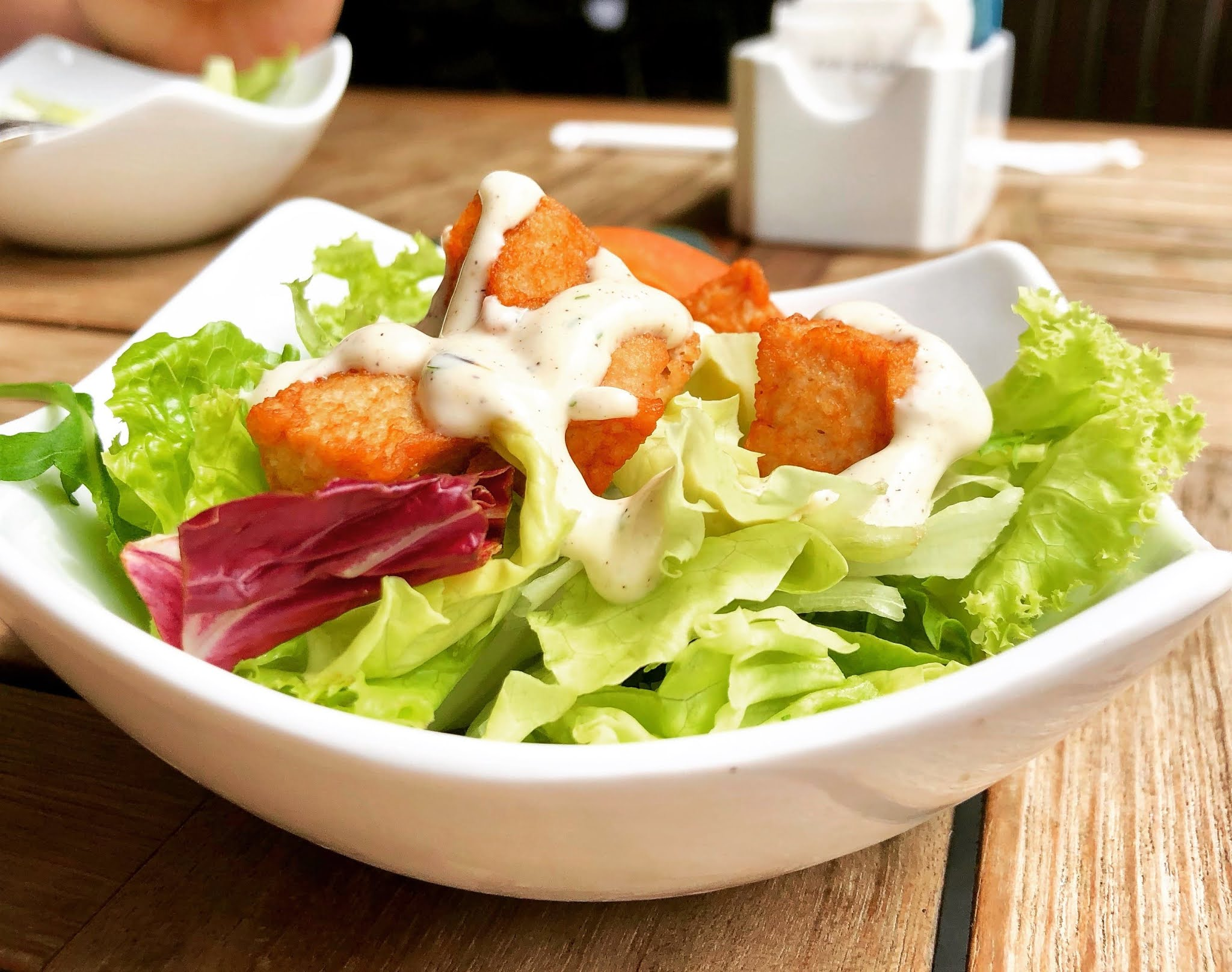 How chicken salad works with yogurt