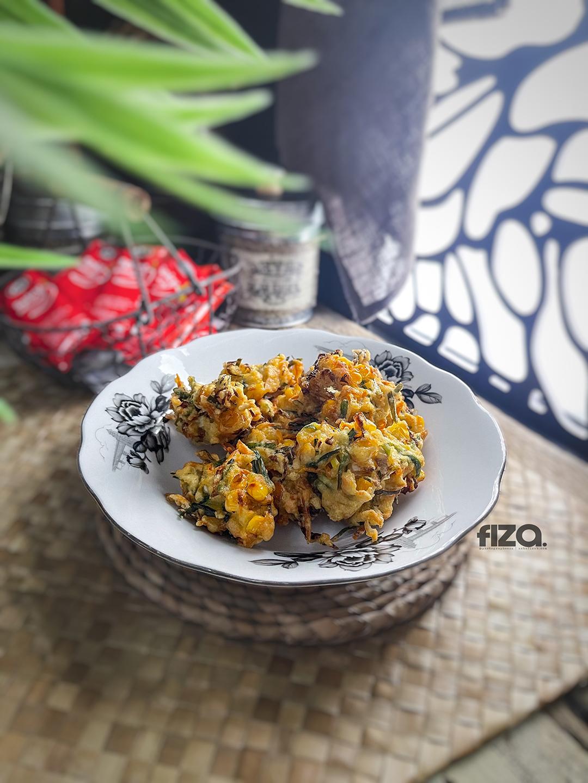 Pekedel Jagung ala Potato Fritters