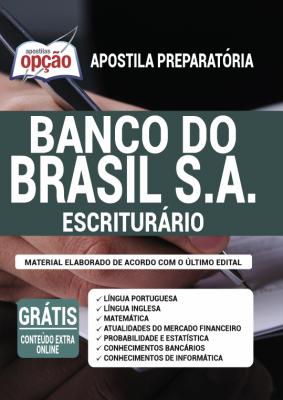 Apostila Concurso Banco do Brasil 2021 PDF Edital Online Inscrições