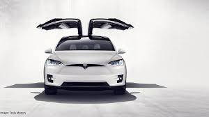 Tesla Motor Car Driving