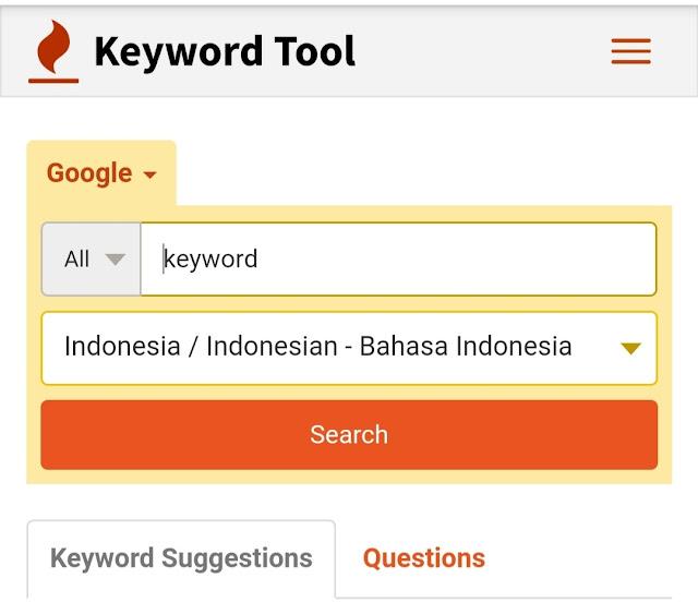 keyword Tool Riset Keyword Terbaik Gratis