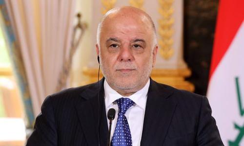 Thủ tướng Iraq Haider al-Abadi. Ảnh: AFP.
