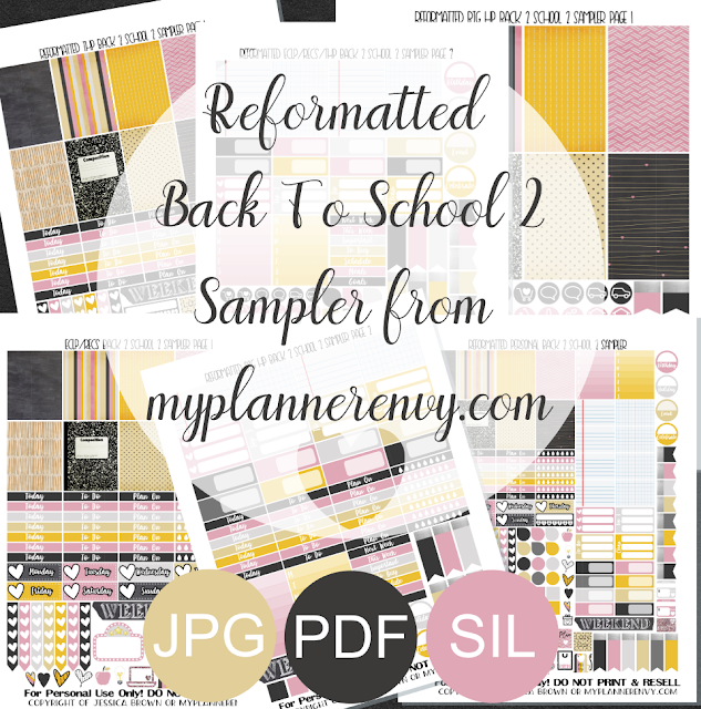 Free Printable Reformatted Back To School 2 Sampler from myplannerenvy.com