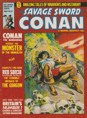 Savage Sword of Conan #29