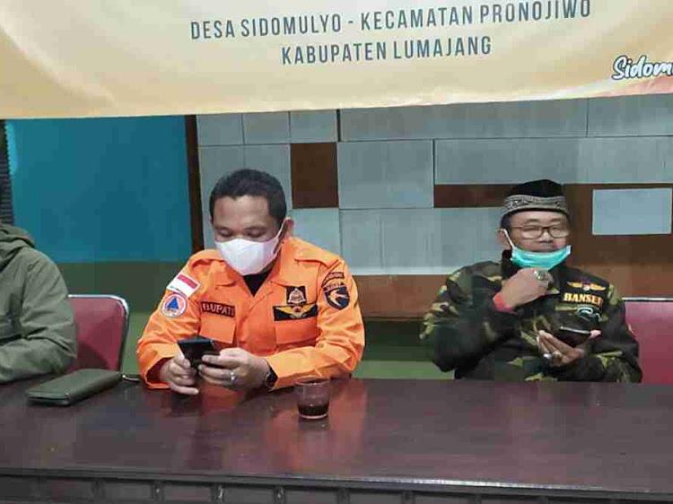Bupati  Lumajang instruksikan Balai Desa jadi posko sementara gempa