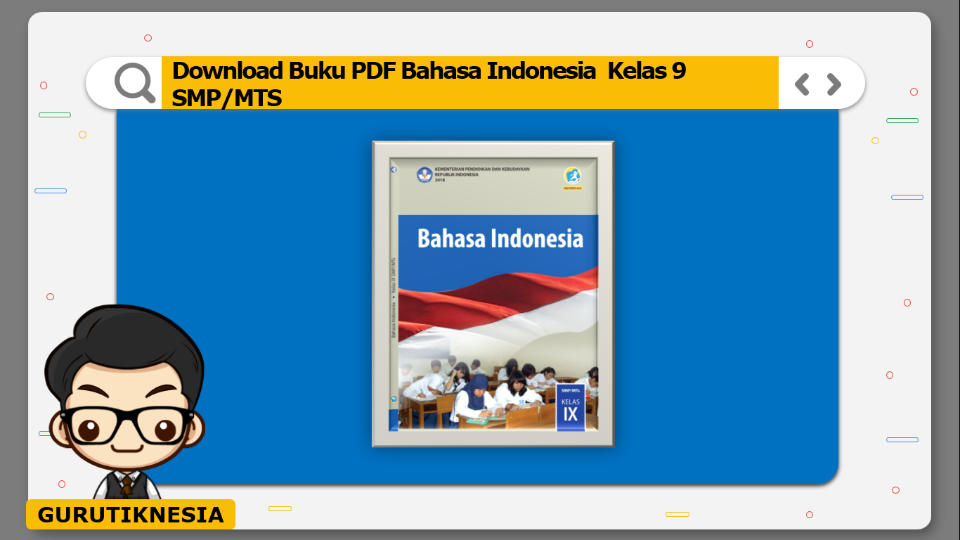 download buku pdf bahasa indonesia kelas 9 smp/mts