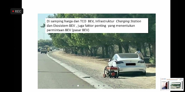 portable charging electric car
