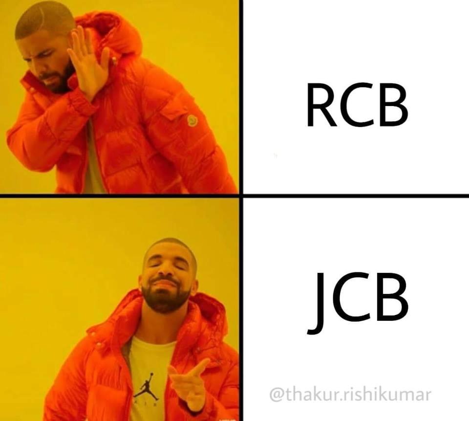 JCB Ki Khudai Funny Memes - BaBa