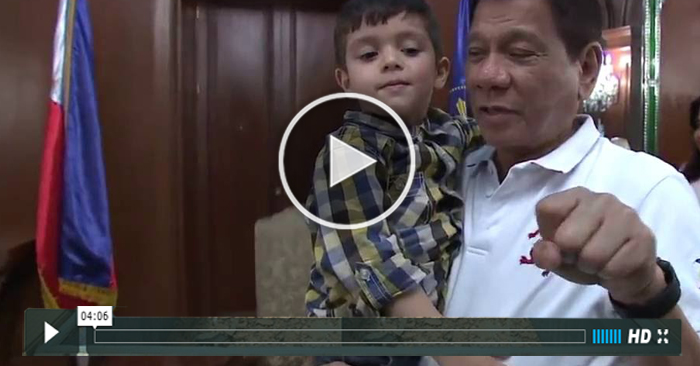 WATCH: Ethan Llanes Visits Duterte In Malacanang. Their Conversation Will Surely Blow Your Mind